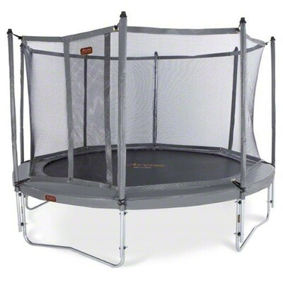 Kidwise JumpFree Proline 15′ Round Trampoline with Safety Enclosure KW-AVGR-15C