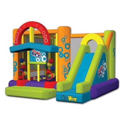 Kidwise Double Shot Bounce House KWJC-201