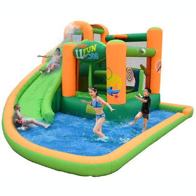 Kidwise Endless Fun 11 in 1 Inflatable Water Bounce House KWSS-9306