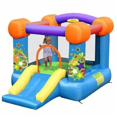 Kidwise Party Bouncer with Slide Bounce House KWSSD-9070