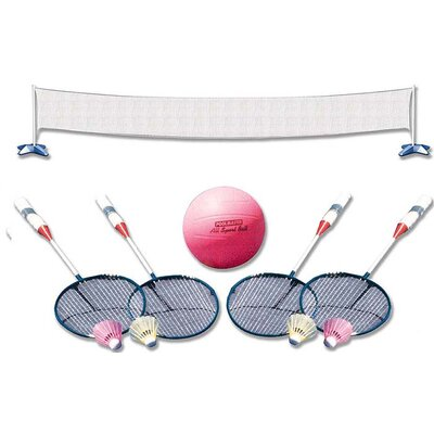 Poolmaster Across The Pool Volleyball / Badminton 72785