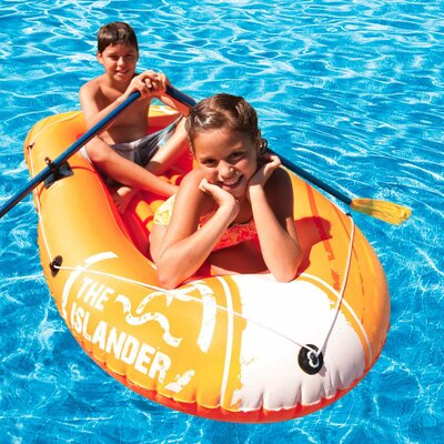 poolmaster Islander II in-flatable Floating Two Person Boat at Sears.com