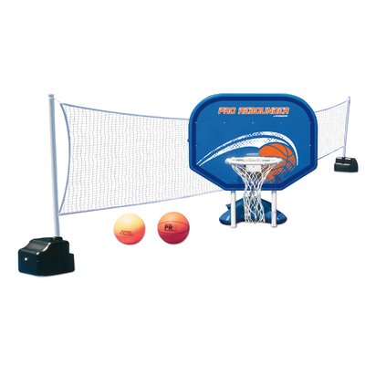 Poolmaster Poolside Basketball / Volleyball Combo 72775