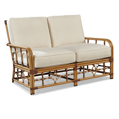 Mimi Loveseat with Cushions Fabric: Vesper Fog