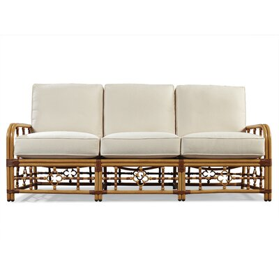 Mimi Sofa with Cushions Fabric: Vesper White