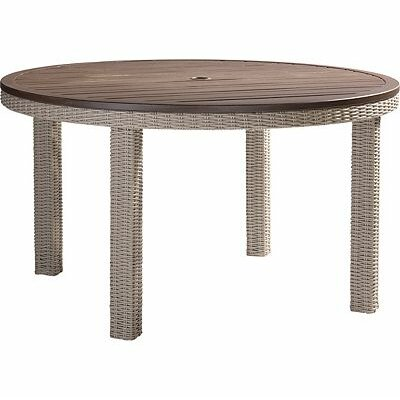 Requisite Wicker Rattan Dining Table 407 Item Image