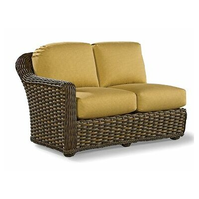 South Hampton Left Facing One Arm Loveseat with Cushions Fabric: Vesper Ivory