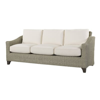 Requisite Sofa with Cushions Fabric: Vesper White
