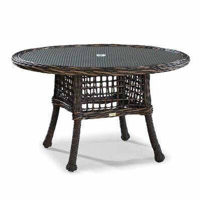 Bay Wicker Dining Table - Product photo