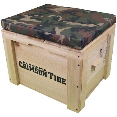 LoBoy Coolers Wood School Deck Box - School: Alabama, Color: Camo at Sears.com