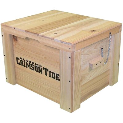 LoBoy Coolers Wood Deck Box - School: Alabama at Sears.com