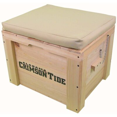LoBoy Coolers Wood School Deck Box - School: Alabama, Color: Tan at Sears.com