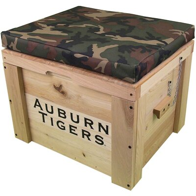 LoBoy Coolers Wood School Deck Box - School: Auburn, Color: Camo at Sears.com