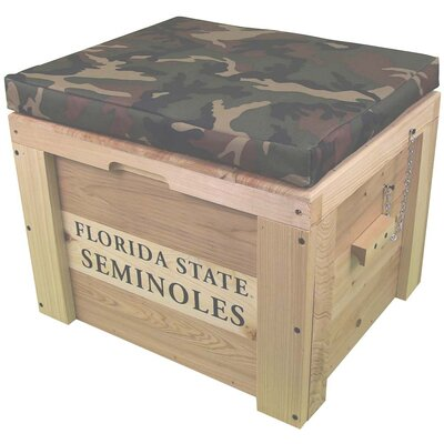 LoBoy Coolers Wood School Deck Box - School: Florida State, Color: Camo at Sears.com