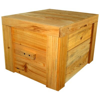 LoBoy Coolers Wood Plain Deck Box at Sears.com