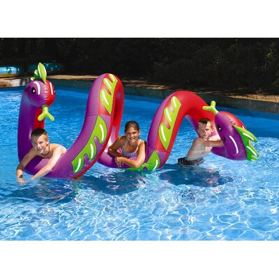 Swimline Ride-On Two Headed Curly Serpent at Sears.com