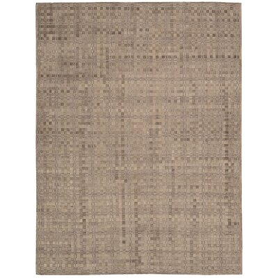 Equestrian Hand-Woven Chestnut Area Rug Rug Size: 8 x 11