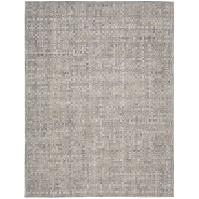 Equestrian Hand-Woven Heather Area Rug Rug Size: 53 x 75