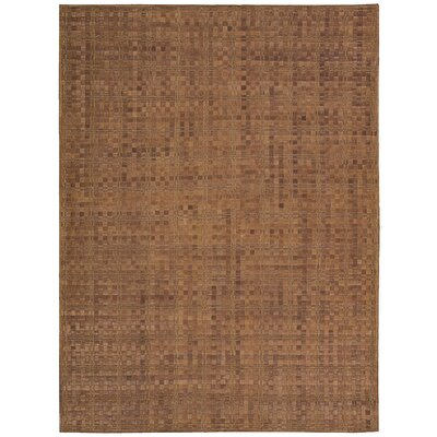 Equestrian Hand-Woven Saddle Area Rug Rug Size: Rectangle 8 x 11