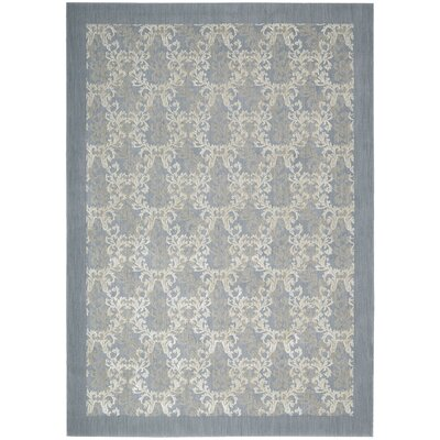 Hinsdale Sky Blue Area Rug Rug Size: Rectangle 53 x 75