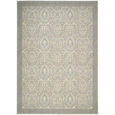 Hinsdale Feather Area Rug Rug Size: 53 x 75