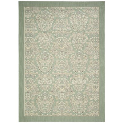 Hinsdale Celery Area Rug Rug Size: Rectangle 53 x 75