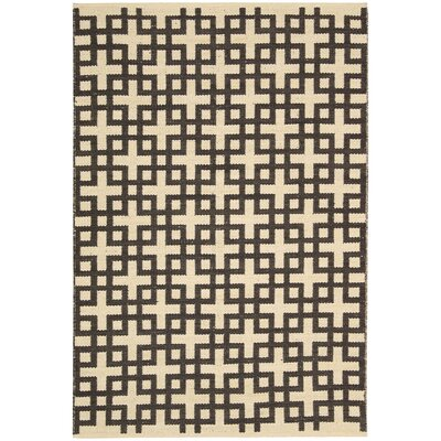Maze Bark Area Rug Rug Size: Rectangle 53 x 75