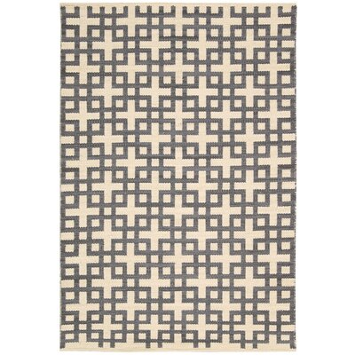 Maze Dove Area Rug Rug Size: Rectangle 53 x 75