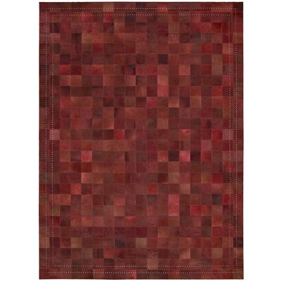 Medley Scarlet Area Rug Rug Size: Rectangle 53 x 75