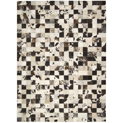 Medley Brown Area Rug Rug Size: 53 x 75