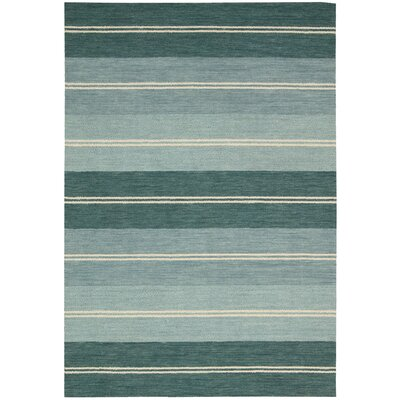 Oxford Seaglass Area Rug Rug Size: Rectangle 53 x 75