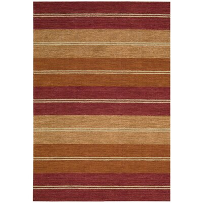 Oxford Sunset Area Rug Rug Size: Rectangle 53 x 75