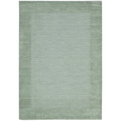 Ripple Azure Area Rug Rug Size: Rectangle 36 x 56