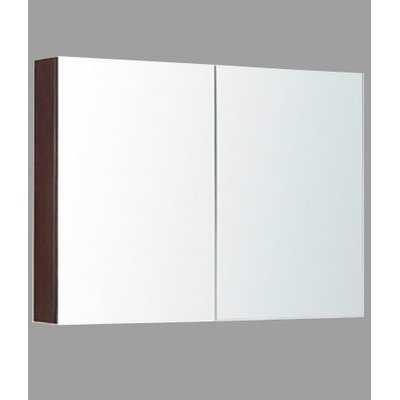 36 x 30 Surface Mount Medicine Cabinet Finish: Walnut