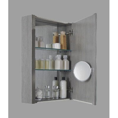 36 x 29 Surface Mount Medicine Cabinet Finish: Ash Grey