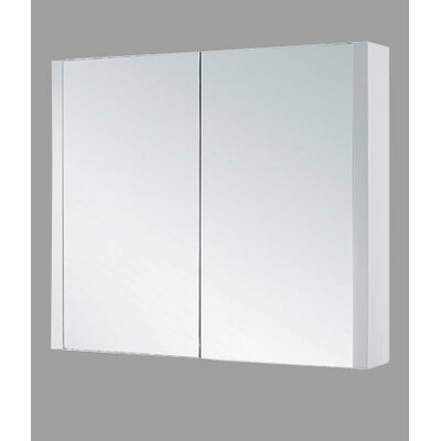 36 x 29 Surface Mount Medicine Cabinet Finish: Glossy White