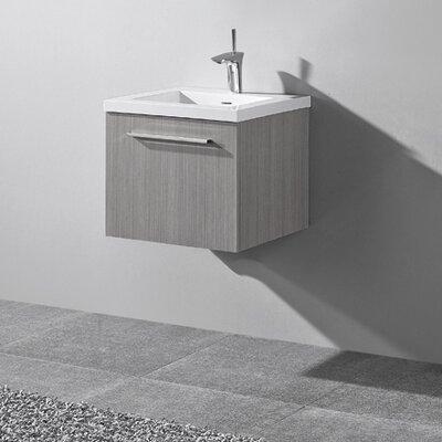 Arezzo 20 Single Bathroom Vanity Set Base Finish: Ash Gray