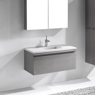 Venasca 36 Single Bathroom Vanity Set Base Finish: Ash Gray
