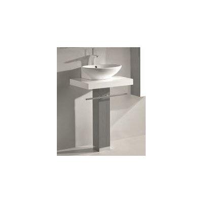 Rimini 24 Single Bathroom Vanity Set Base Finish: Ash Grey