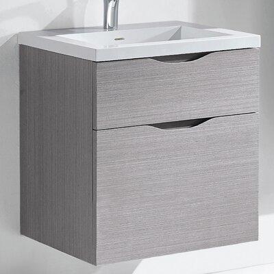 Bolano 24 Single Bathroom Vanity Set Base Finish: Ash Gray