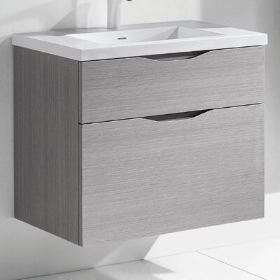 Bolano 30 Single Bathroom Vanity Set Base Finish: Ash Gray