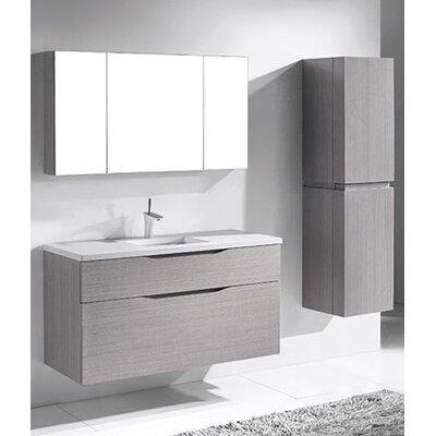 Bolano 48 Single Bathroom Vanity Set Base Finish: Ash Gray