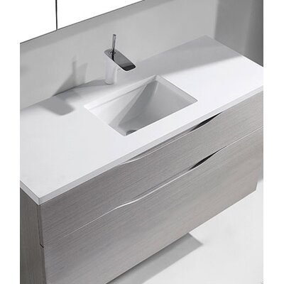 Milano 48 Bathroom Vanity Set Base Finish: Ash Gray