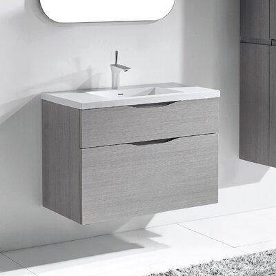 Bolano 36 Single Bathroom Vanity Set Base Finish: Ash Gray