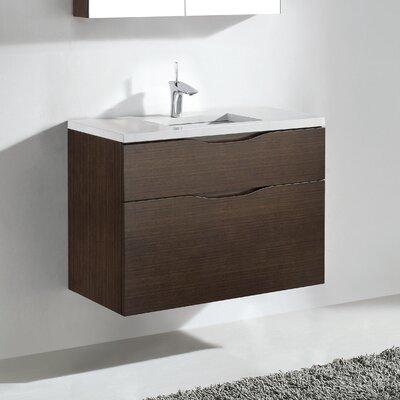 Bolano 36 Single Bathroom Vanity Set Base Finish: Walnut