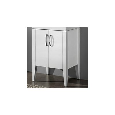 Caserta 23.63 Bathroom Vanity Base Finish: White