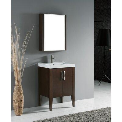 Caserta 24 Single Bathroom Vanity Set