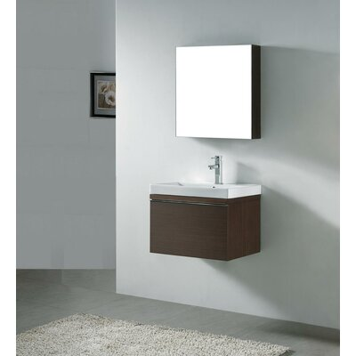 Venasca 24 Single Wall Mount Bathroom Vanity Set