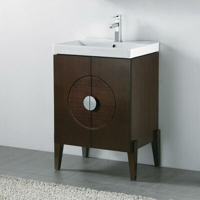 Genova 24 Wall Mount Bathroom Vanity Base
