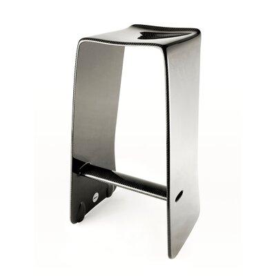 Carbon 30.5 Bar Stool Upholstery: Carbon Fiber
